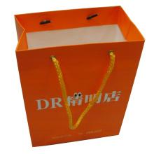 Bolsa de papel para embalaje y compras con logotipo