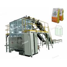Sekundärverpackungsmaschine mit automatischer Beutelzuführung
