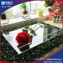 17 Years Factory Supplier Acrylic Rectangletray