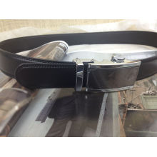 Men Ratchet Leather Belt (A5-140704)