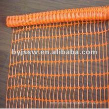 orange polyethylene safety nets