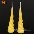 Short Lead Time Popular In Australia Lemon Yellow Unicorn Birthday Candle For Sale