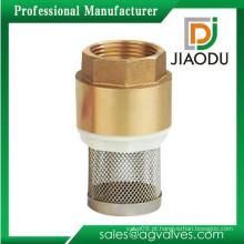 A mais nova válvula de pé de latão profissional com filtro