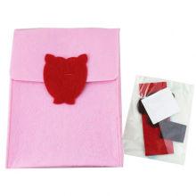 V-Day Diy Filz Bagpack Handwerk Tasche