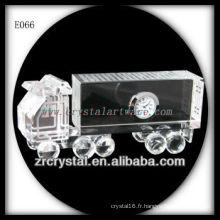 Modèle de trafic de cristal délicat E066