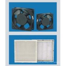 Ventilador y filtro para el gabinete del soporte de Flooe
