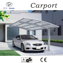 Strong and durable aluminum car parking shade Car shelters canvas carport for parking