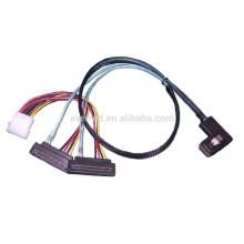 SFF-8087 to SFF-8482x2 SAS cable(PIERC439-001)