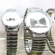 Alloy Love Watch casal relógio, relógio de presente JW-05