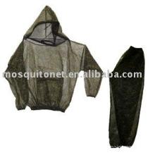 Наружная куртка из москитной сетки