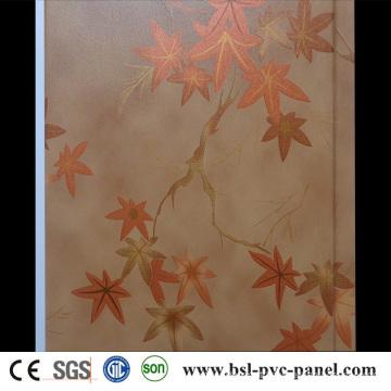 Iraque Hotselling 25cm Painel de parede de PVC laminado Placa de teto de PVC