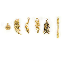 Pièces de moulage de cire perdue en laiton pour pendentif de bijoux