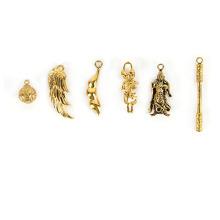 Peças de fundição de cera perdida de latão para pingente de joias