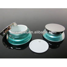 15g, frasco de creme de 30g acrílico para embalagem de cosméticos