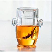 Théière à thé et à thé en verre à base de borosilicate