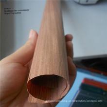Folheado de madeira artificial decorativa da cara do folheado da madeira