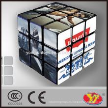 Cubo del rompecabezas mágico del OEM de Levis Alta calidad modificada para requisitos particulares para el anuncio promocional y