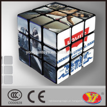 Cubo do enigma mágico do OEM de Levis Alta qualidade personalizada para o anúncio relativo à promoção & da propaganda