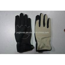Mehcanic Glove-Work Gloves-Safety Gloves-Industrial Gloves-Leather Gloves-Labor Gloves
