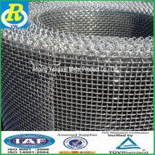 Malla de alambre cuadrada galvanizada / cerca de acero / paneles de cerca