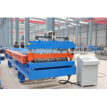 Roofing glazed steel tile roll forming machine