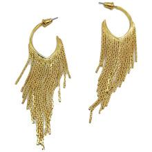 Wholesale Fashion Female Drop Earrings Tassel Water Drop Long Claw Chain Rhinestone Tassel Earrings Full Diamond Earring Jewelry