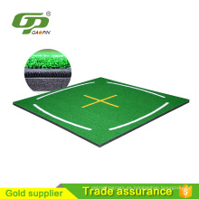 Golf accesorios venta directa de golf 3d golpear estera personalizada bordado disponible para golf enseñanza