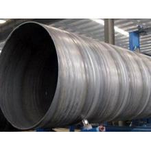 Tubo soldado em espiral de aço carbono