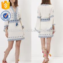 Новая мода Кот вышитые кафтан платье Производство Оптовая продажа женской одежды (TA5245D)