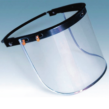 Face Shield for fit on Safety Helmet