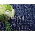 NYLON SPENDEX MESH WITH 3MM ALL OVER SEQUIN EMBD 50/52""