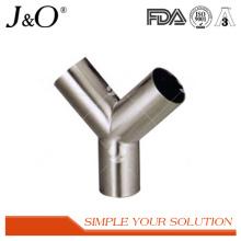 Raccords de tuyaux en tube soudés à l'acier inoxydable en acier inoxydable