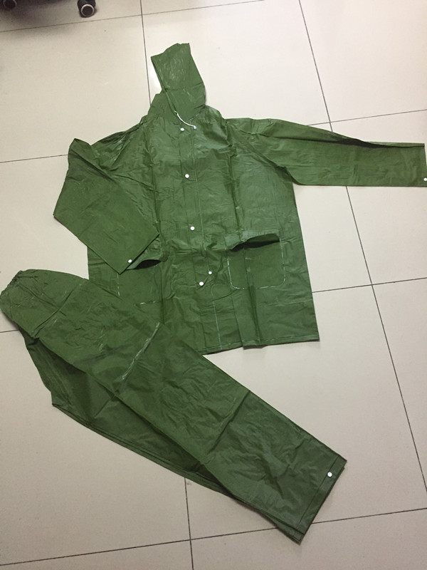 Army Green Raincoat