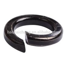 Fabricant Fait sur commande en acier noir Rondelle de verrouillage à ressort m3
