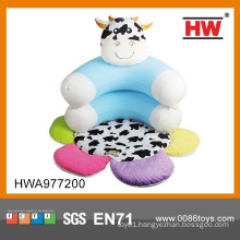 Cartoon Functional Inflatable Baby Sofa With Play Mat