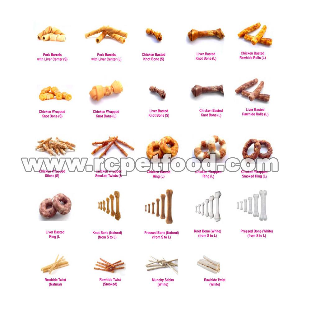 rawhide snacks and chews