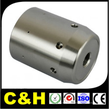 Factory Price High Precision CNC Usinage Chromed Brass Pipe Fitting avec ISO9001