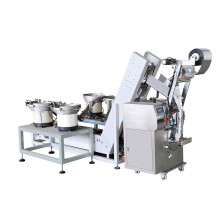 Machine de conditionnement automatique pour bagues et clips