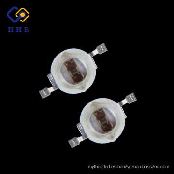 promoción de alto brillo 5w naranja 610nm de alta potencia led