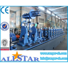Tipo de línea de producción y máquina de la pipa de acero galvanizada de la pipa