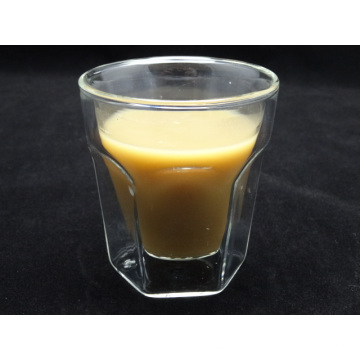 Hand Made 210ml High Quality Borosilicate Double Wall Glass Tea Cup
