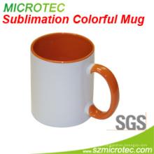 11oz Sublimation Coated Keramik Zweifarbige Farbe Becher