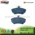 Plaquettes de frein en céramique Plaquettes de frein de disque NAO (OE: 431 698 151 G / FMSI: D227)