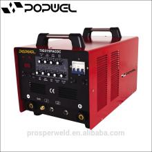 Inverter TIG PULSE WELDING MACHINE Máquina de solda de alumínio Pulse Vermelho TIG315PACDC
