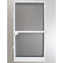 China Manufacturers for Frame Insect Screen Door,Frame Bottom Hinged Windows,Aluminium Frame Casement Windows Manufacturer in China Europe hot sale DIY aluminium mosquito net door supply to Uzbekistan Exporter