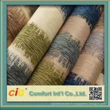100% polyester bonne qualité canapé classique tissu chenille