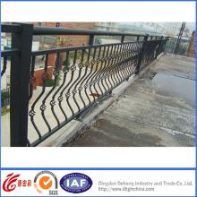 Cercas de seguridad de hierro forjado de alta calidad