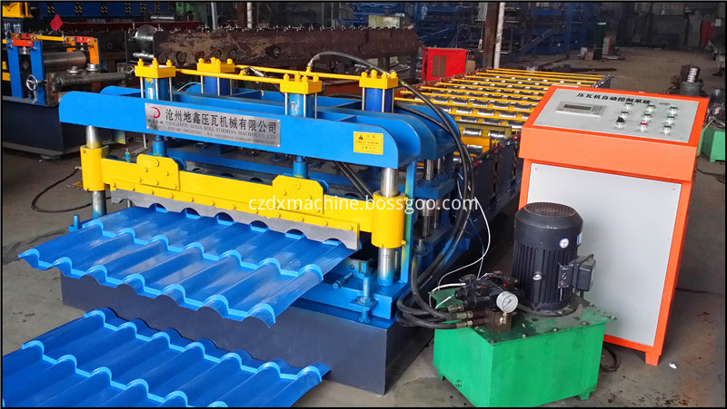 Glazed Tile Roll Forming Machine14