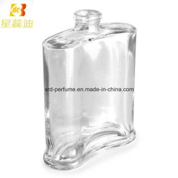 Bouteille de parfum carrée en verre vide de 30ml