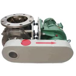 Rotary Feeder for Powder Pellet Solid Materials